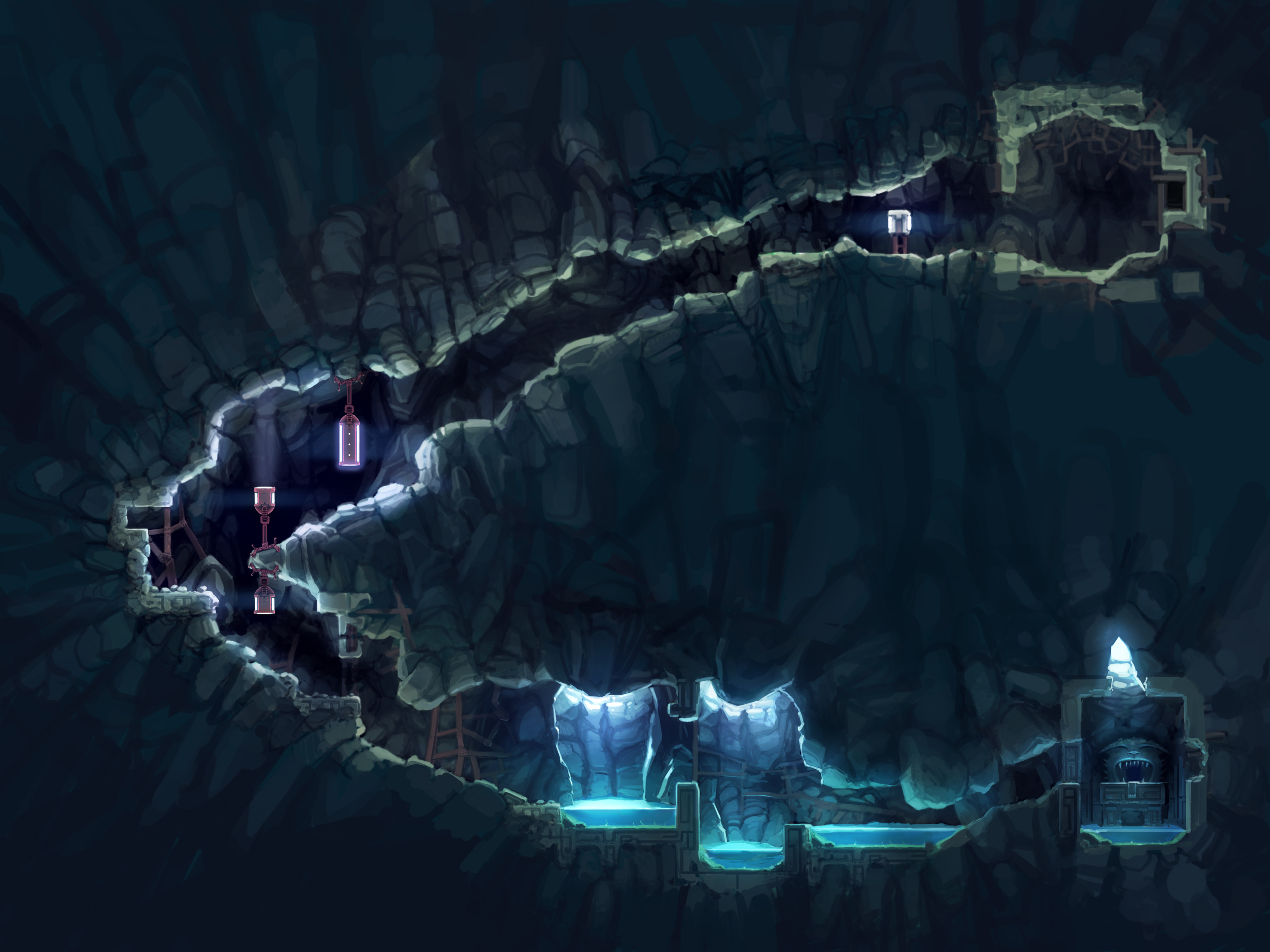Drawn cavern sprite Www Showcase Cave Showcase New