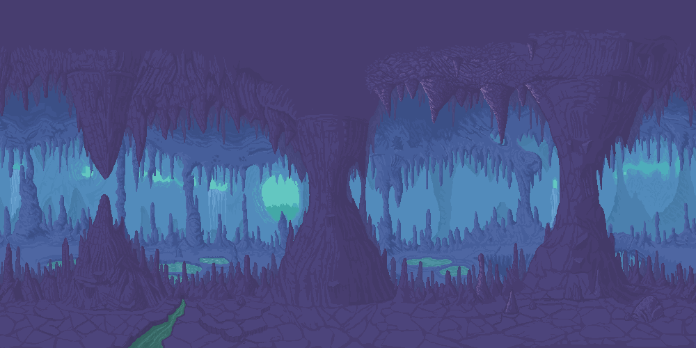 Drawn cavern sprite Background [Image: WIP rw44jD3 png]