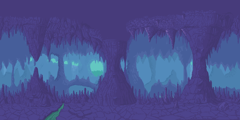 Drawn background cave Background Cave Game WIP] Ard