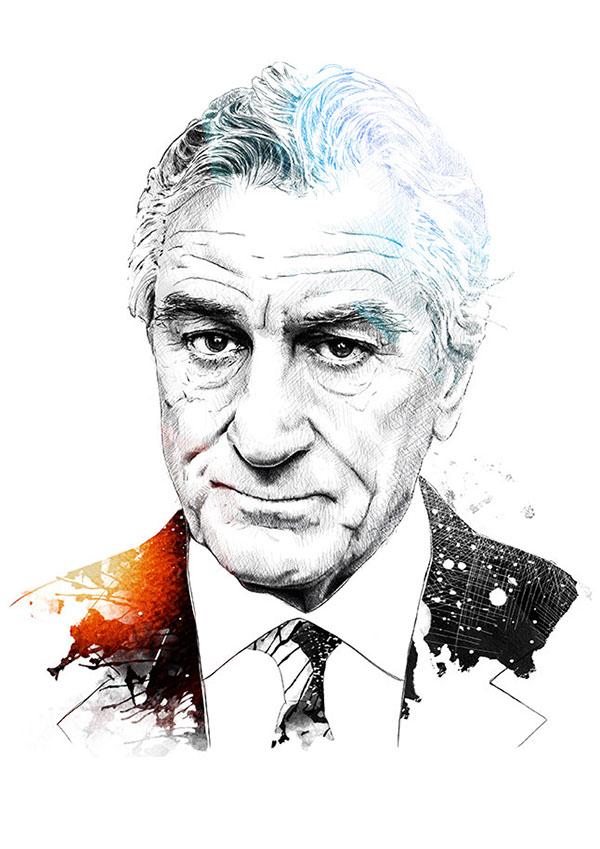 Drawn celebrity Series Sergio Ingravalle  A