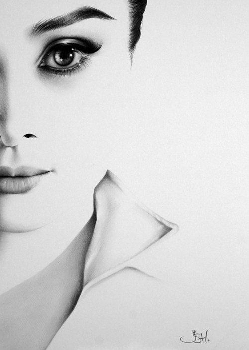 Drawn portrait minimal DRAWINGS 145 Fine Art best
