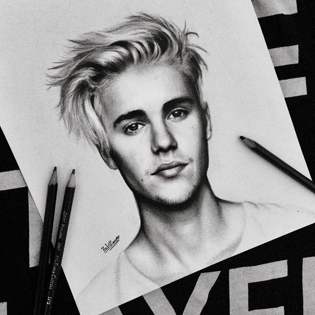 Drawn celebrity awesome art #7