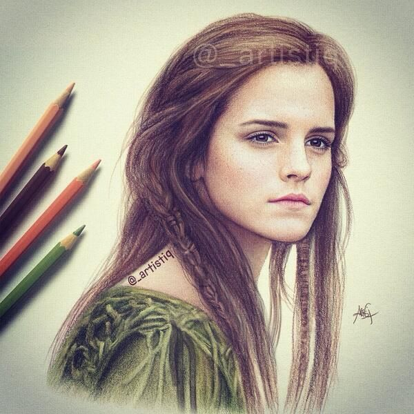 Drawn celebrity awesome art #12