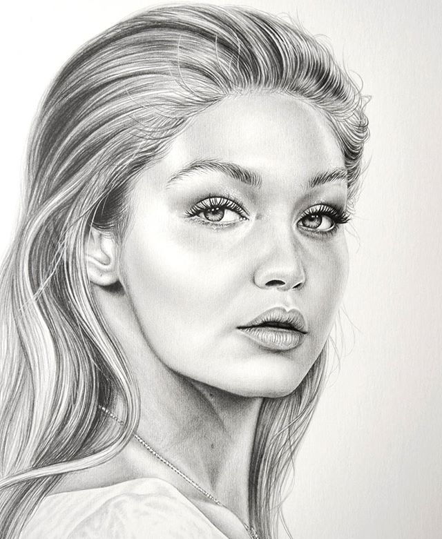 Drawn celebrity awesome art #2