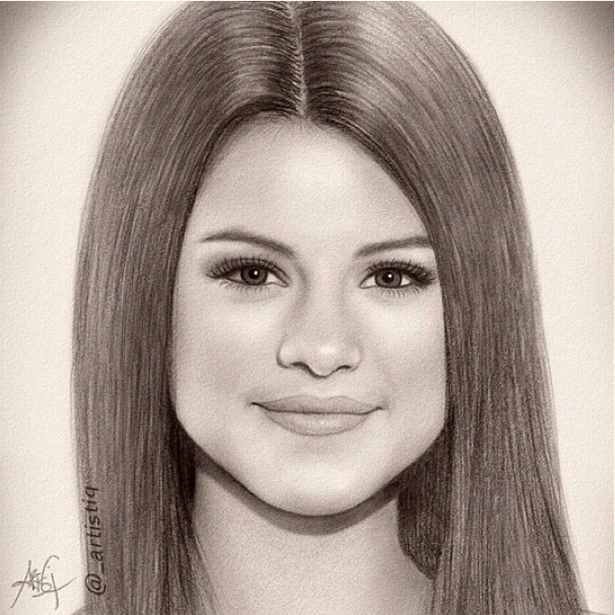 Drawn celebrity awesome art #8