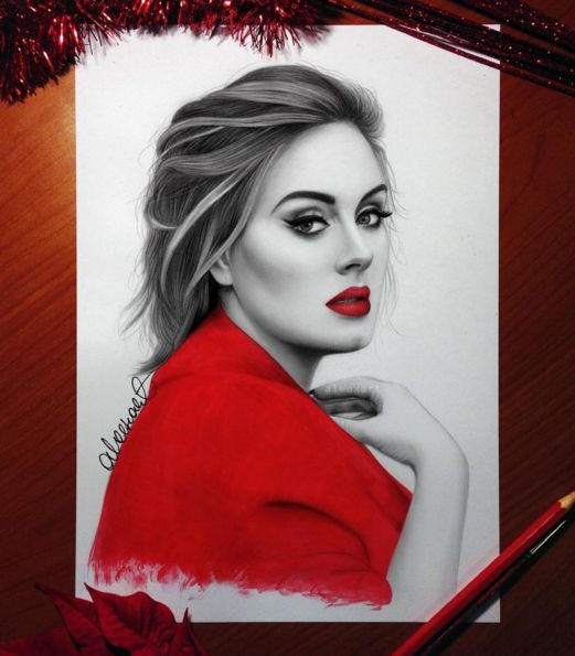 Drawn celebrity awesome art #1