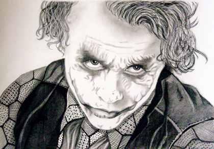 Drawn celebrity black and white #11