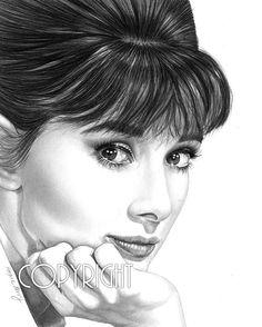 Drawn celebrity black and white #2