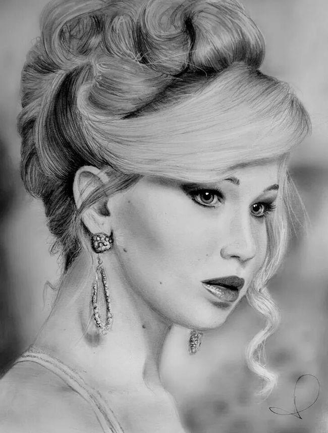 Drawn celebrity detailed #12
