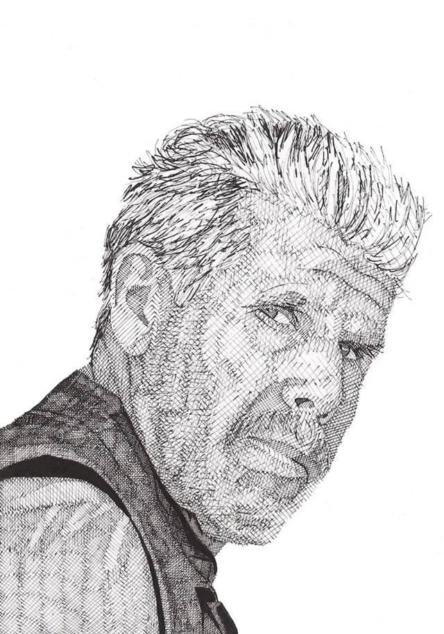 Drawn celebrity detailed #9