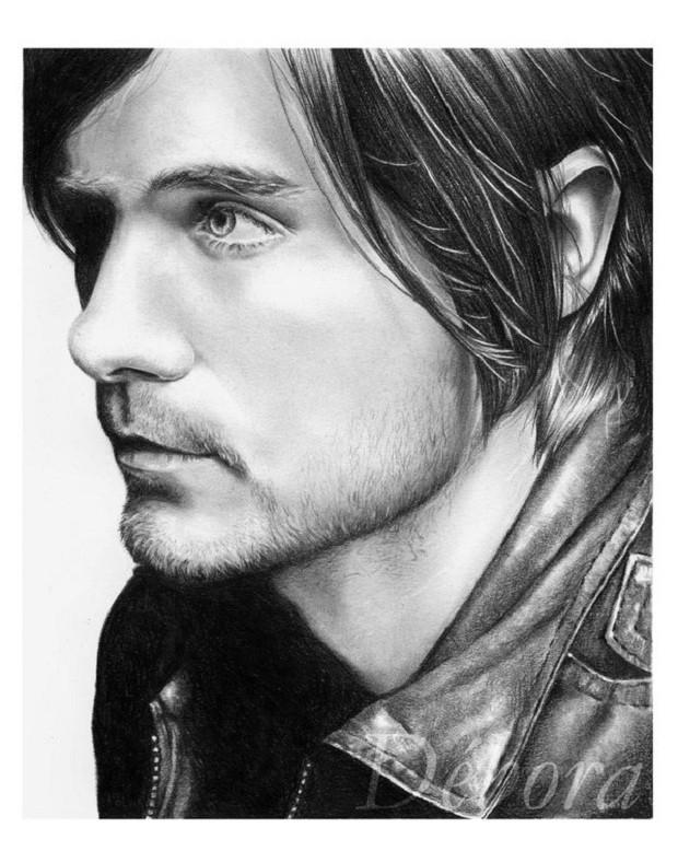 Drawn celebrity detailed #5
