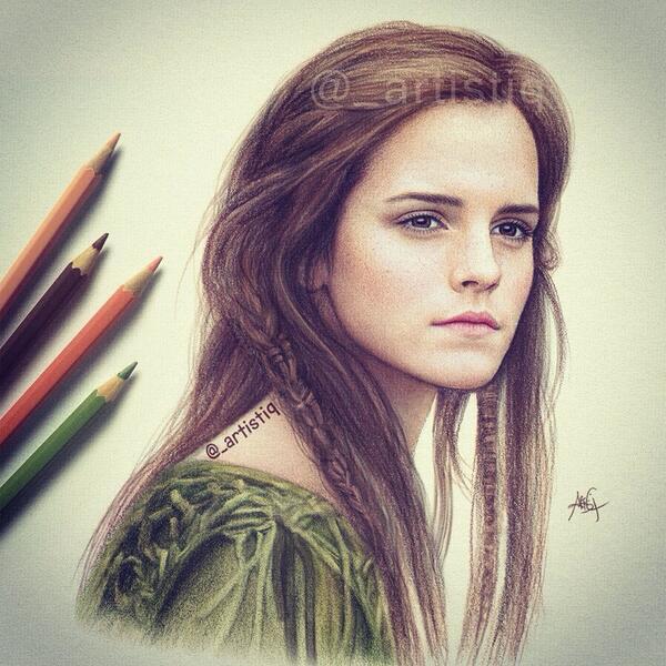 Drawn celebrity detailed #13