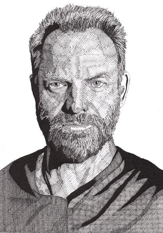 Drawn celebrity detailed #3