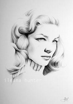 Drawn celebrity fine art #13