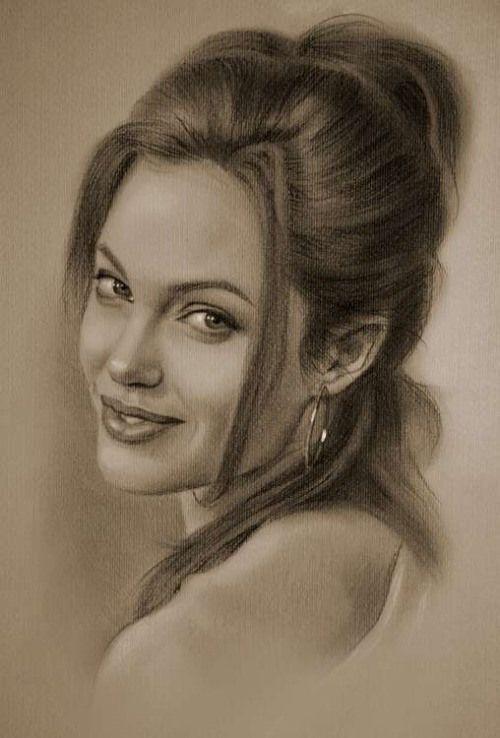Drawn celebrity fine art #2