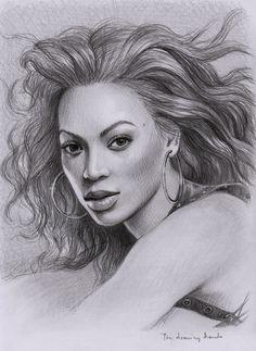Drawn celebrity fine art #3