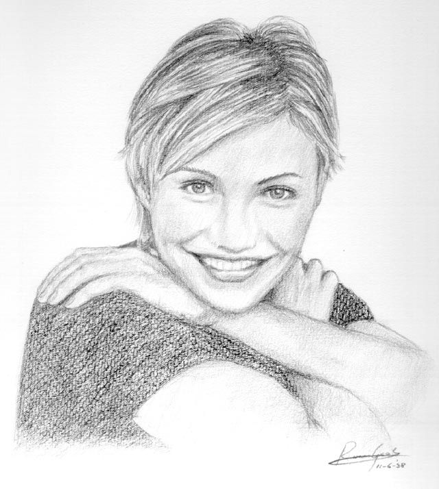 Drawn celebrity fine art #6