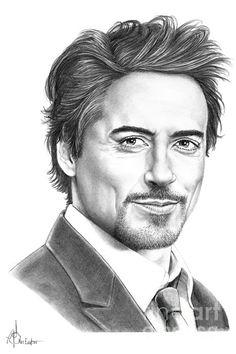 Drawn celebrity fine art #7