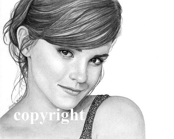 Drawn celebrity fine art #1