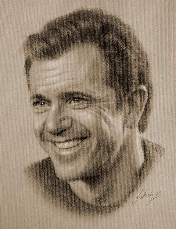 Drawn portrait famous artist Of  portrait portraits 21