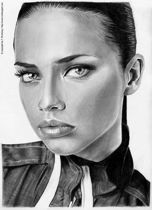 Drawn portrait realistic On Ultra Realistic Drawings Art