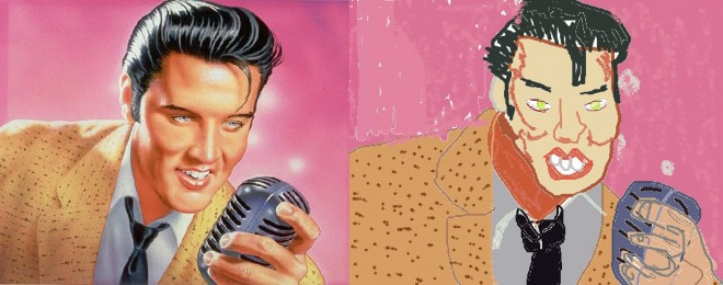 Drawn celebrity ms paint #7