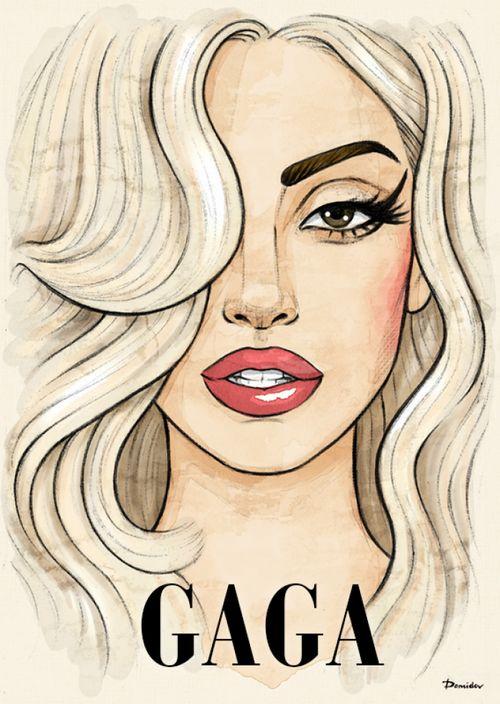 Drawn celebrity pretty person #5