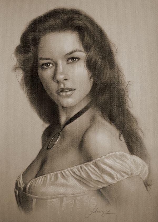 Drawn celebrity pretty person #8