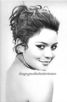 Drawn celebrity pretty person #13