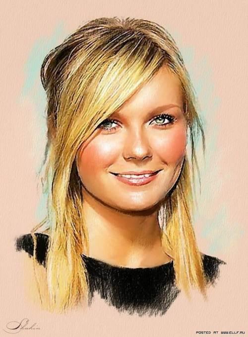 Drawn celebrity pretty person #15