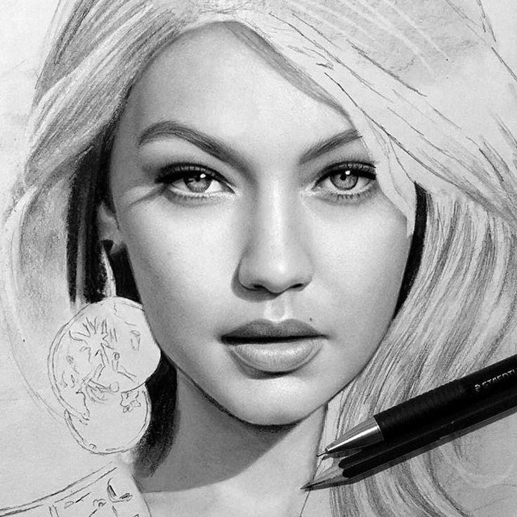 Drawn celebrity progress #5