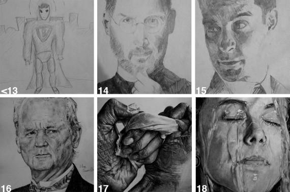 Drawn celebrity progress #7