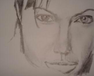 Drawn celebrity progress #6