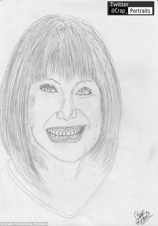 Drawn celebrity progress #9