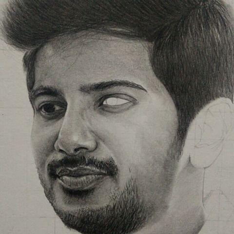 Drawn celebrity progress #13