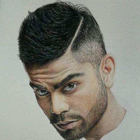 Drawn celebrity progress #2
