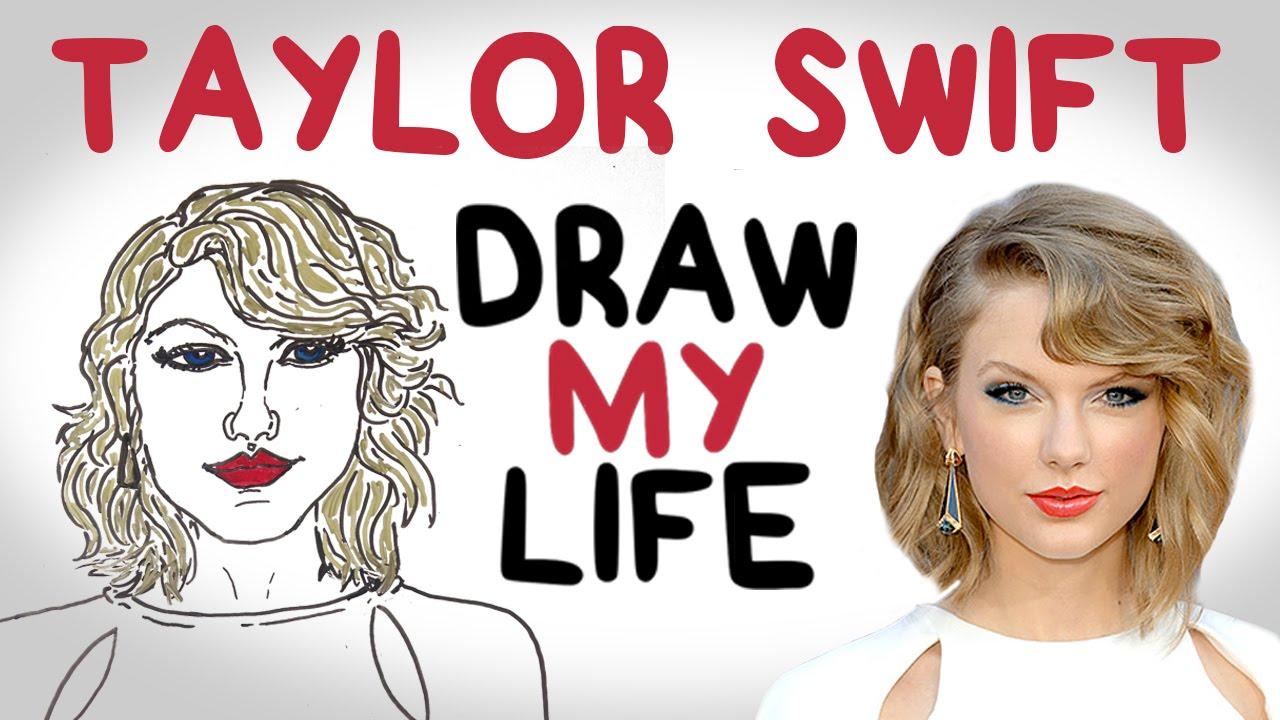 Drawn amd taylor swift Life Draw YouTube  My