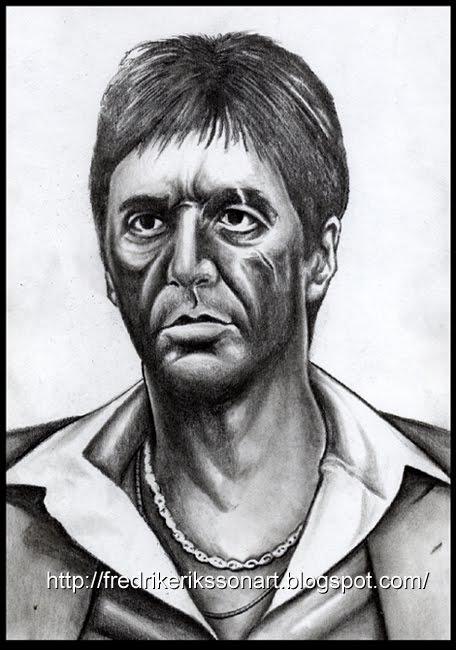 Drawn celebrity scar face #5