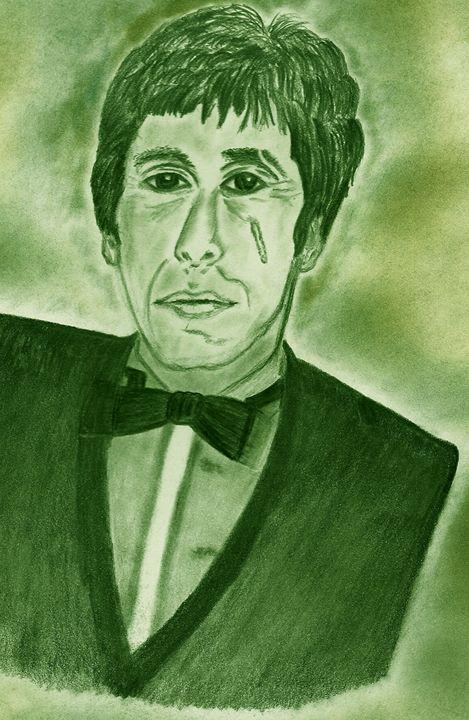 Drawn celebrity scar face #9