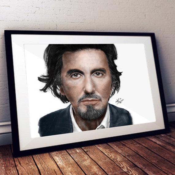 Drawn celebrity scar face #3