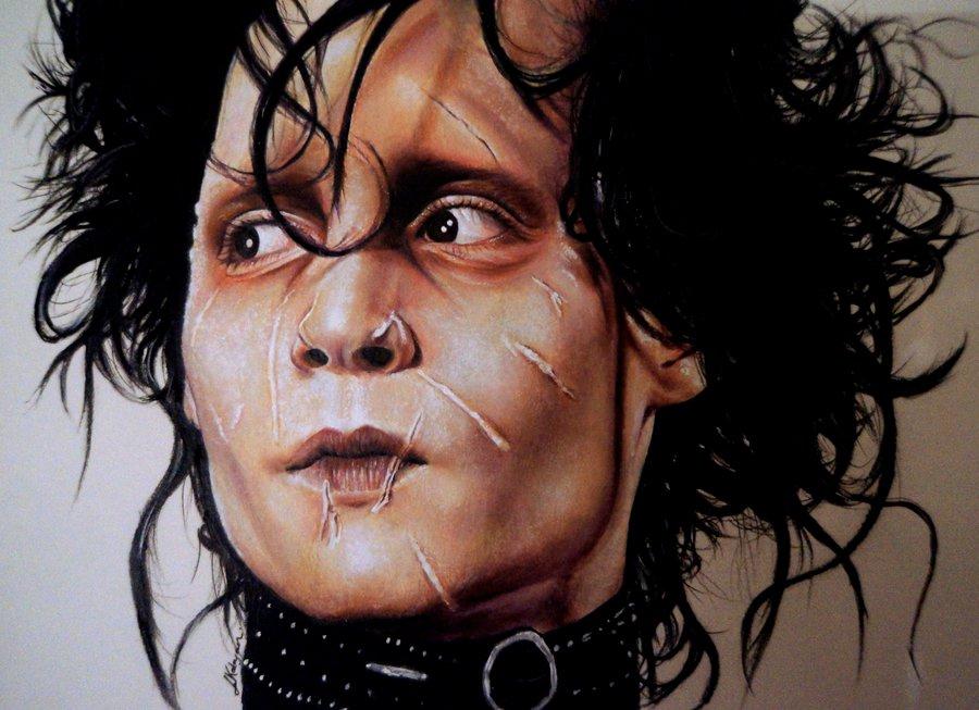 Drawn celebrity scar face #12