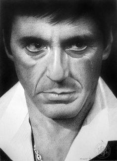 Drawn celebrity scar face #4
