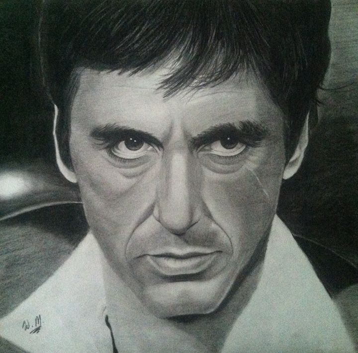 Drawn celebrity scar face #13