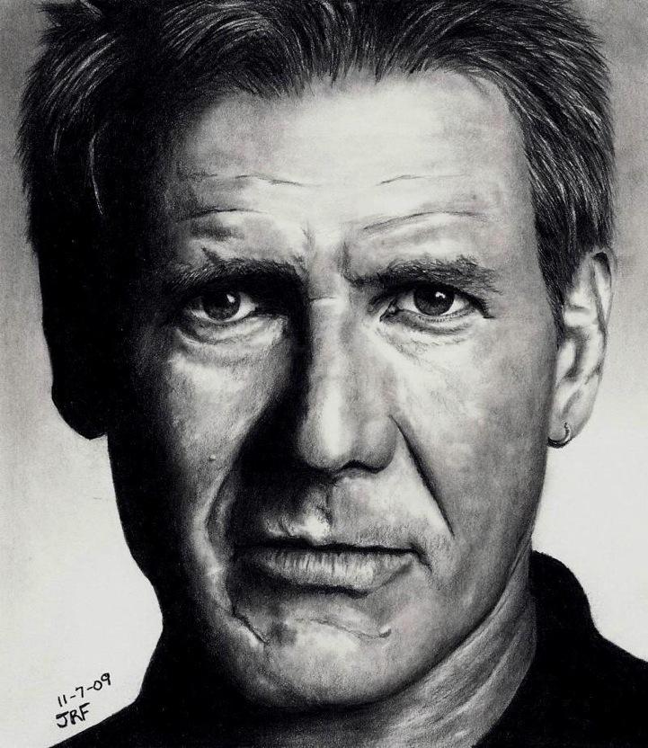 Drawn celebrity scar face #11