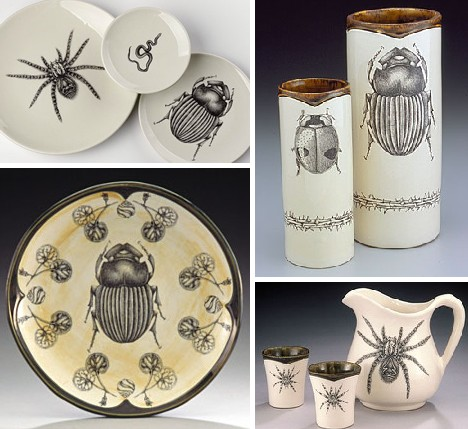 Drawn ceramic – on Hand or on