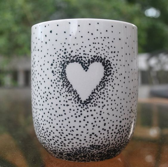 Drawn ceramic A a Hand Drawn Scatter