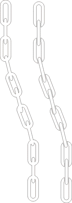 Drawn chain #11