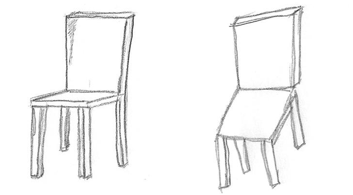 Drawn chair Drawn The com chair of