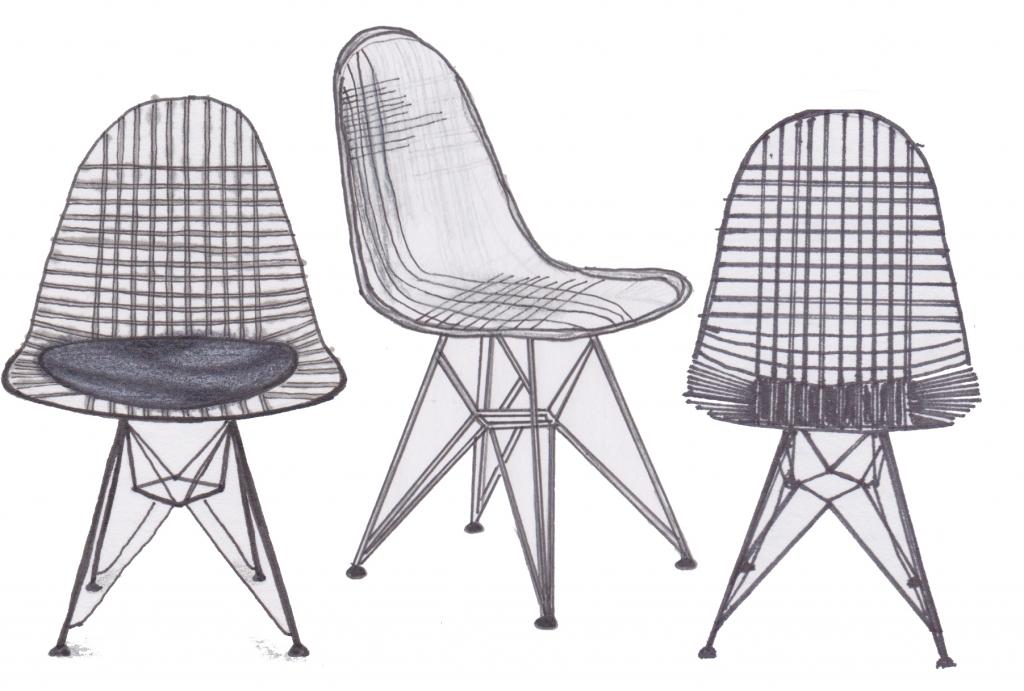 Drawn chair IARc EVERYWHERE UNCG 2nd] CHAIRS