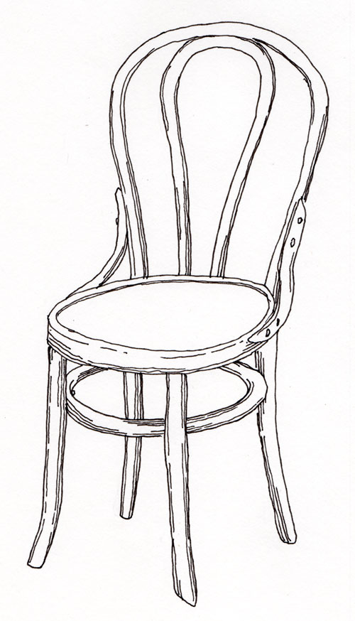 Drawn chair Never each Paper—Draw!: on least